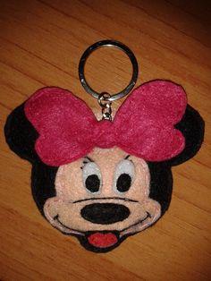 Porta-chaves Minnie