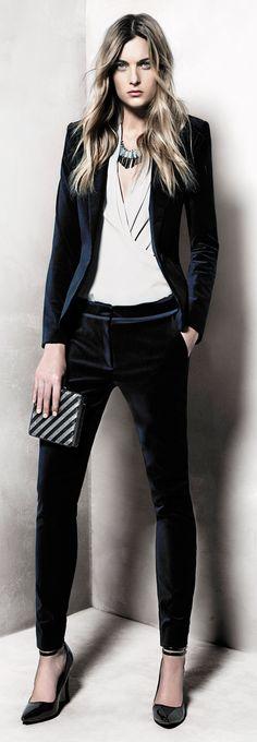 Mango Lookbook Νov. 2012. This suit is divine. #josephine#vogel