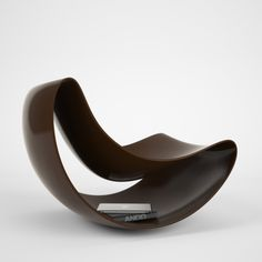 Lobule Chair by Vasiliy Butenko  Example of making use of the space within the chair instead of just around it. This can save space as the chair actually become a storage space due to the inner cavity.
