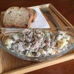Orosz hússaláta, ahogy a férjem készíti | mókuslekvár.hu Dairy, Salad, Cheese, Salads, Lettuce