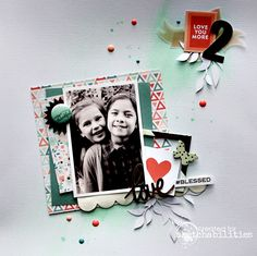 love you 2 more - Sketchabilities - Scrapbook.com