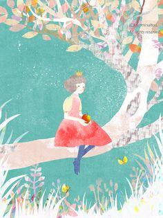 kiyomi saitou Character Illustration, Digital Illustration, Graphic Illustration, Sketchbook Inspiration, Illustrations And Posters, Whimsical Art, New Art, Watercolor Art, Illustrators