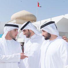 Primos: Zayed bin Maktoum bin Rashid Al Maktoum, Mohammed bin Maktoum bin Rashid Al Maktoum y Majid bin Mohammed bin Rashid Al Maktoum, 25/09/2015. Vía: sultan_mansoori