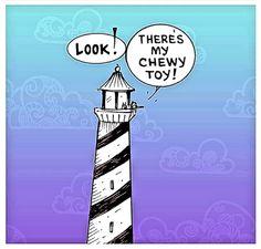 Mutts Celebrates national national Lighthouse Day!!