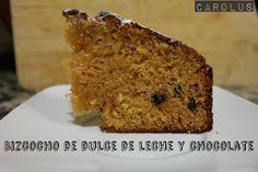 Bizcocho de dulce de leche y chocolate, #receta - Carolus Cocina