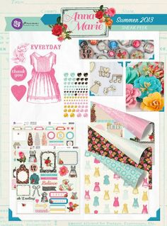 CHA Sneak Peeks: The Anna-Marie Collection