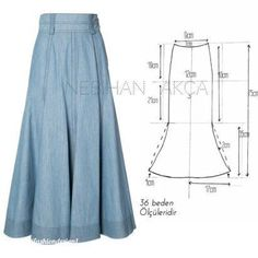 Amazing Sewing Patterns Clone Your Clothes Ideas. Enchanting Sewing Patterns Clone Your Clothes Ideas. Skirt Patterns Sewing, Sewing Patterns Free, Clothing Patterns, Sewing Clothes, Diy Clothes, Pants Pattern Free, Fashion Sewing, Skirts, Pola Rok