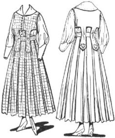 Fashion amp clothing 1900 1919 i pinterest day dresses sketches