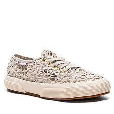 Superga Classic Macrame Low-Top Sneaker