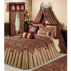 Palatial Grande Ruffled Flounce Bedspread Bedding