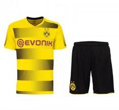 Borussia Dortmund 2017-18 Season Home BVB Kit [K340]