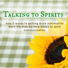 Have you ever wanted to learn how to communicate with Spirits? Connect with your Spirit Guides, Guardian Angels and finally understand the whole mediumship process in this eCourse ->