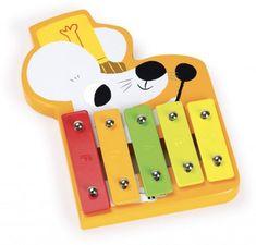 Vilac Drevený Xylofón Myška Instruments, 49er, Abs, Licence, Products, Unique, Play Food, Toys, Forest Theme