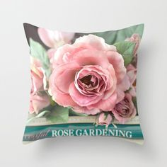 New Velvet Cushion Cover Pillowcase American Country Rose Mediterranean Pillow Case Decor Sofa Throw Pillows Room 45 * 45cm - 08 / 450*450mm / Italy