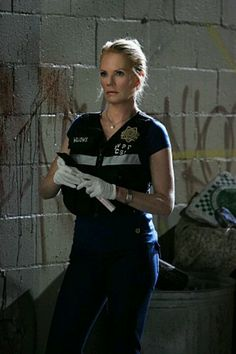 Marg Helgenberger as Catherine Willows on CSI