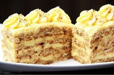 Untifrttled Baking Recipes, Cake Recipes, Hungarian Desserts, Russian Cakes, Easy Cake Decorating, Most Delicious Recipe, Tasty, Yummy Food, Cake Business