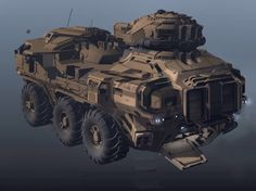 explorations and final concepts for the Halo 4 Mammoth. worked a lot with RJ Ranola and his awesome skills in order to bring this vehicle to completion. Army Vehicles, Armored Vehicles, Self Propelled Artillery, 3d Mode, Tank Armor, Spaceship Art, Sci Fi Ships, Weapon Concept Art, Futuristic Cars