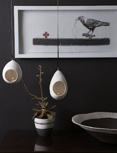 Birds Nests – My latest purchase from Helen Vaughan at the Design Indaba Expo 2012, can't wait to put them up.