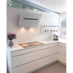 What's not to love? White on white dream #kvikkitchen ❤️Cred: @huset_ved_vannet #kitcheninspiration#kvik#kitchen#køkken