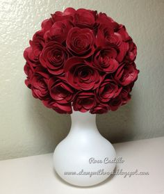 Made using the spiral flower die - just beautiful!
