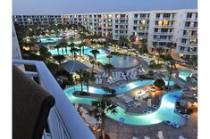 Waterscape in Fort Walton Beach is the perfect location for your family beach vacation - loads of gorgeous beach and amenities galore. Fort Walton Beach Florida, Destin Florida, Florida Vacation, Florida Beaches, Sandy Beaches, Us Destinations, Gulf Of Mexico, Beach Resorts, Pools