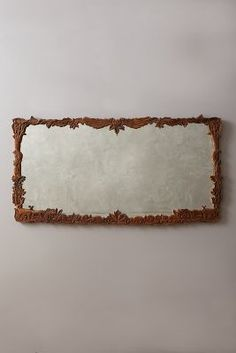 Anthropologie Handcarved Menagerie Mirror #anthrofave