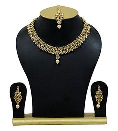 Indian Bollywood Necklace Set Ethnic Gold Tone Stone Pear... https://www.amazon.com/dp/B07B6NQV9F/ref=cm_sw_r_pi_dp_U_x_9IDSAbQ4CZJ6S