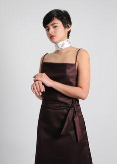 #monicabachue #velazca  #cleftlip #dress Cleft Lip, Children And Family, Hue, High Neck Dress, Dresses, Fashion, Vestidos, Atelier, Turtleneck Dress