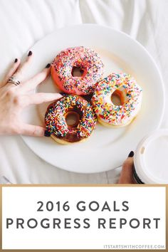 00873527d3 2016 Goals Progress Report - It Starts With Coffee - Blog by Neely Moldovan  - Lifestyle