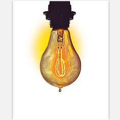 Rococco LA Prints Electric Bulb