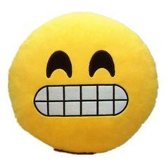 Emoji Pillow - Cheese Smile/ Grin