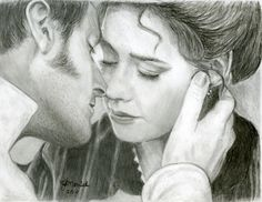 John Thornton & Margaret Hale. North & South: Elizabeth Gaskell wow! I just had to pin this amazing fan art!