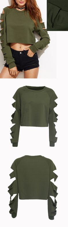 Army green - think olive and hunter. Contain move of feeling, allow a woman student no longer onefold beauty. Come to chiclookcloset, find your style in this season.^^/