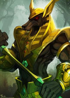 nasus league of legends anubis