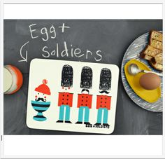 Egg Soldiers Placemat by Ketchup on Everything, an award winning British brand, the epitome of quirky, eye-catching and unique design.  Now available in Singapore www.lumleylocket.com
