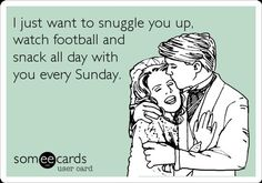 This would be perfect if it said SATURDAY instead of Sunday...granted I'm cool with both when its football season :)