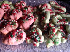 Christmas cookies ... Sour Cream Twists!