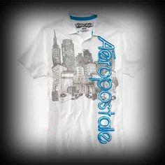 Aeropostale メンズ ポロシャツ エアロポステール Attitude Graphic Jersey Polo ポロシャツ-アバクロ 通販 ショップ-【I.T.SHOP】 #ITShop