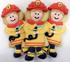 Flour Box Bakery — Fireman Party Favors