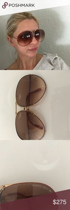 e60bc24dfda4 Porsche Carrera sunglasses 5621 Authentic These are used and have scratched  lenses. They can be
