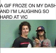 Pierce The Veil, Oh my god. XD