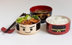 Sous Chef's Cute As Buttons Bento Boxes