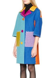 Look Fashion, Autumn Fashion, Fashion Design, Colour Blocking Fashion, Color Blocking, How To Make Clothes, Making Clothes, 70s Inspired Fashion, Girl Outfits