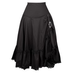 Jupe Noire Vintage Longueur 71 cm Lavage 40 °