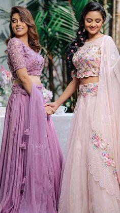 Indian Bridesmaid Dresses, Indian Wedding Gowns, Indian Gowns Dresses, Indian Bridal Fashion, Indian Fashion Dresses, Dress Indian Style, Indian Designer Outfits, Designer Lehnga Choli, Lehenga Saree Design