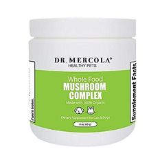 Firma asta e geniala Dr Mercola Organic Mushroom Complex For Pets - Packed With Protein/Whole Foods - Helps Maintain Immune Function/Normal DNA - Premium Pet Care Supplement