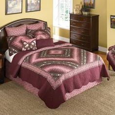 Donna Sharp Mauvelous Postage Stamp Bed Sets