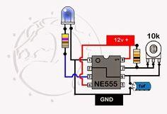 Electronic Kits, Electronic Circuit Projects, Electronic Schematics, Electronics Mini Projects, Electronics Basics, Arduino Sensors, Led Projects, Diy Tech, Led Diy