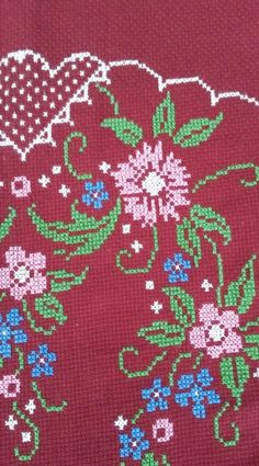 Kids Rugs, Stitch, Home Decor, Cross Stitch Embroidery, Towels, Tablecloths, Crossstitch, Embroidery, Full Stop