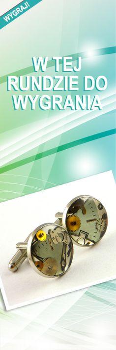 Zegarkowe spinki; Wartość: 65 zł. Poczucie piękna: bezcenne. Powyższy materiał nie stanowi oferty handlowej.
